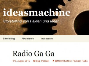 ideasmachine Radio Ga Ga